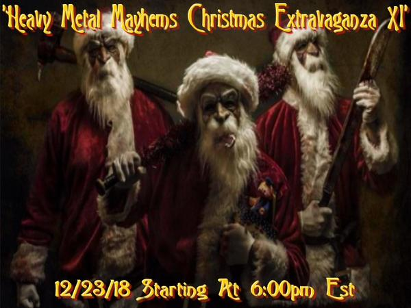 Heavy Metal Christmas.The Merry Metal Christmas Extravaganza Xi On The Holiday