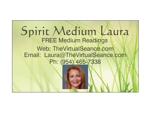 FREE Psychic & Medium Readings w/ Laura on The Virtual Séance 04/14
