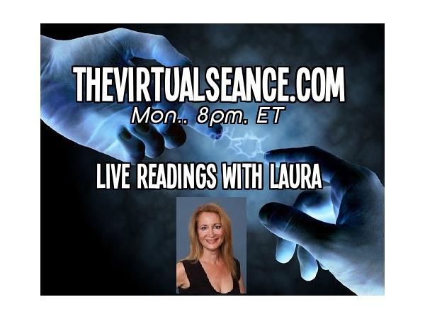 FREE Psychic & Medium Readings w/ Laura on The Virtual Séance 02/17