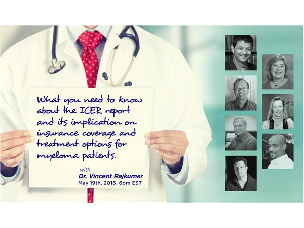 Dr  Rajkumar of Mayo Clinic on ICER Report and Treatment