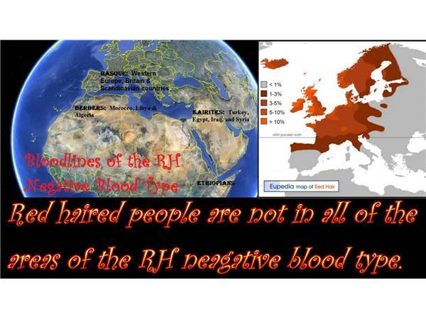 RH Negative Bloodlines~ The Nephilim & Anunnaki Link ~ Jamie, Janet