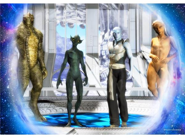 Traveling Through the Stargate - The Blue Star People - The