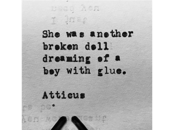 Love Her Wild Mysterious Poet Atticus Stops By 1025 By
