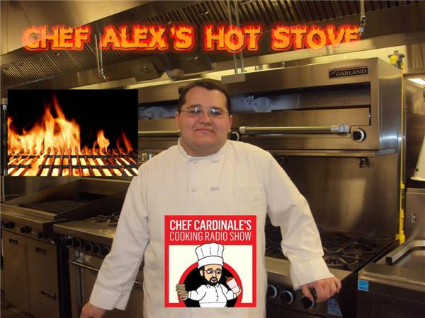 Chef Alex's HOT Stove LIVE! Episode 1:My Start in Cooking, Mentors, and MORE!!!