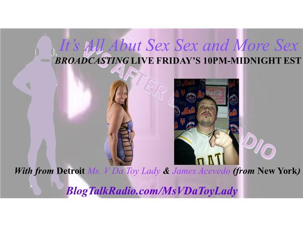 V'S AFTER DARK RADIO - A REAL CONVERSATION WITH ADULT FILM STAR RICO STRONG