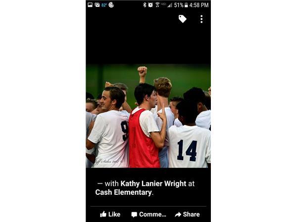 Kendall Wright- Right Back (East Forsyth HS Soccer Team