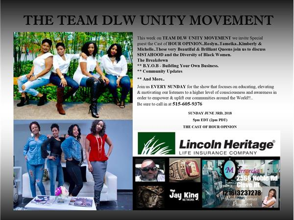 TEAM DLW UNITY MOVEMENT / STOP THE VIOLENCE 07/01 by Jay
