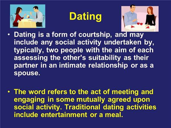 difference between courtship and dating