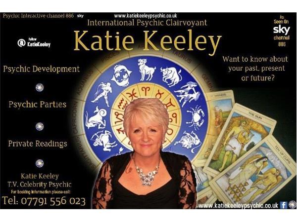 Virtual Vision FM presents, Katie Keeley, TV Celebrity Psychic 03/01