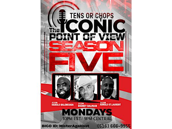 The Iconic Point of View w/ Icons Rodney Balmain, Harold Balenciaga, & Arnold YS