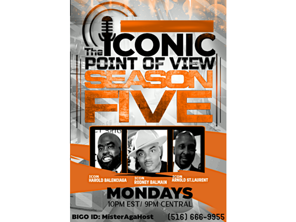 The Iconic Point of View w Icons Rodney Balmain, Harold Balenciaga, & Arnold YSL