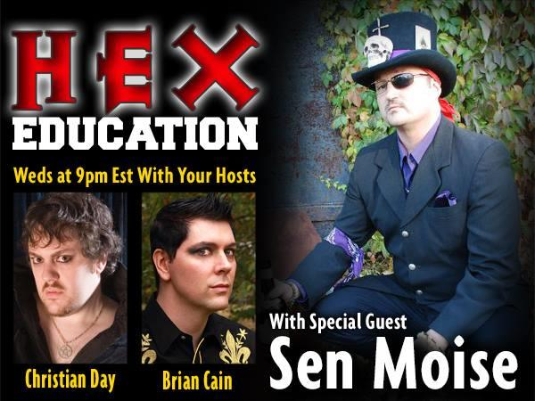 Curses and Hoodoo Hexes with Sen Moise 02/04 by Hex Education
