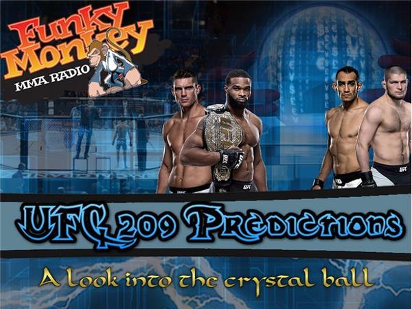 UFC 209 Main Card Predictions