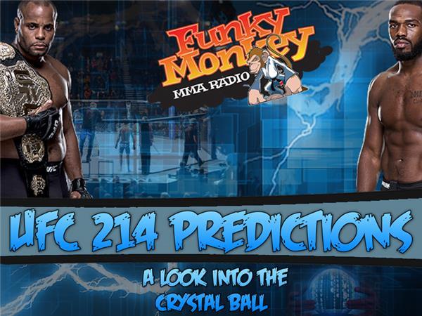 UFC 214 Main Card Predictions Jones vs Cormier