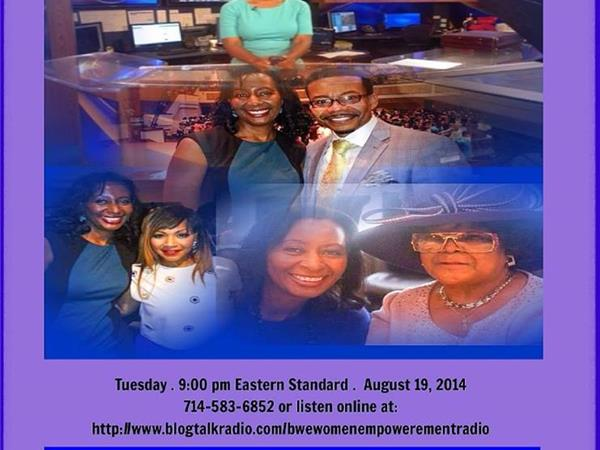 Live with Tonya Rivens of CBS Radio and WBTV 08/19 by BWE Womens