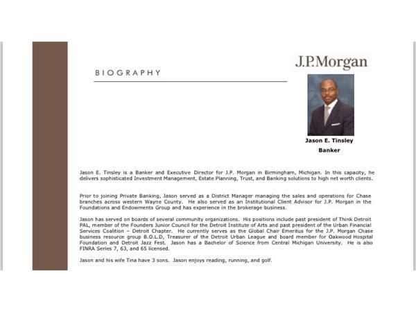 The Revitalization of Detroit: A Conversation with J P  Morgan's