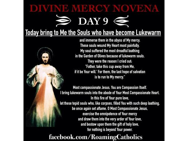 Deepertruth: The Divine Mercy Novena Day 9 04/27 by Deeper