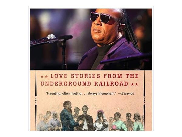 Stevie Wonder Adapts, Underground Railroad Love Story Book