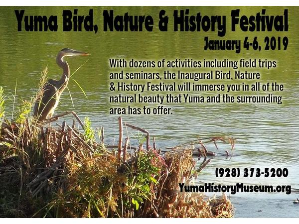 Big Blend Radio: Yuma Bird, Nature and History Festival