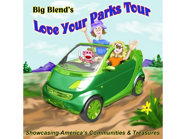 Big Blend Radio - Love Your Parks Tour Stories of Change, Generals and Giants