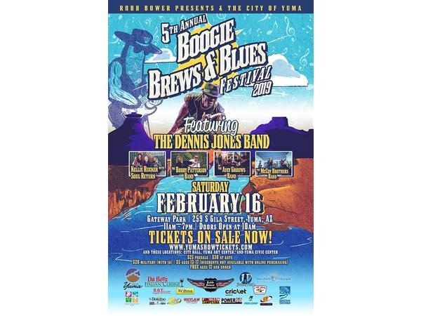 Big Blend Radio: Yuma Boogie, Brews & Blues Festival
