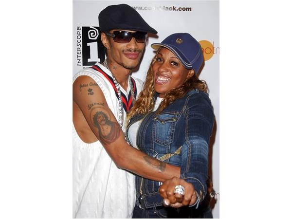 r u0026b artist f3lecia  wife to layzie bone of bone thugs n