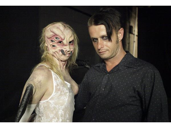 We have live on the radio Eric Foxx from SyFy Tv show #FaceOff