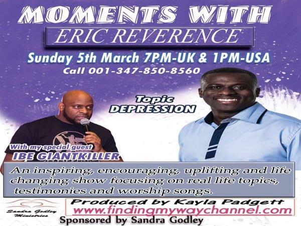 Moments with Eric Reverence 03/05 by Finding My Way With