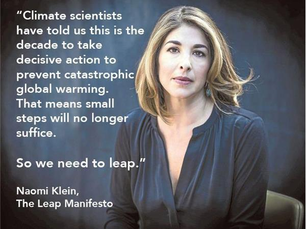 A Discussion of the Leap Manifesto