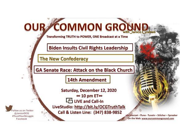 Biden-Harris Transition Meeting 12/8/20: Civil Rights Leadership Meeting Audio
