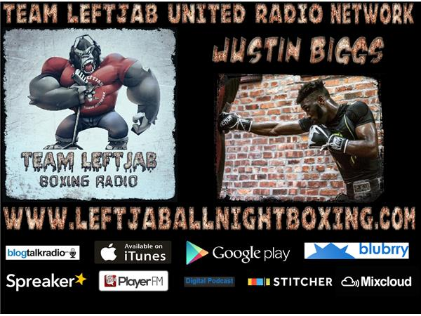 JUSTIN BIGGS TALKS NEXT FIGHT,REAL DEAL BOXING & GGG/CANELO