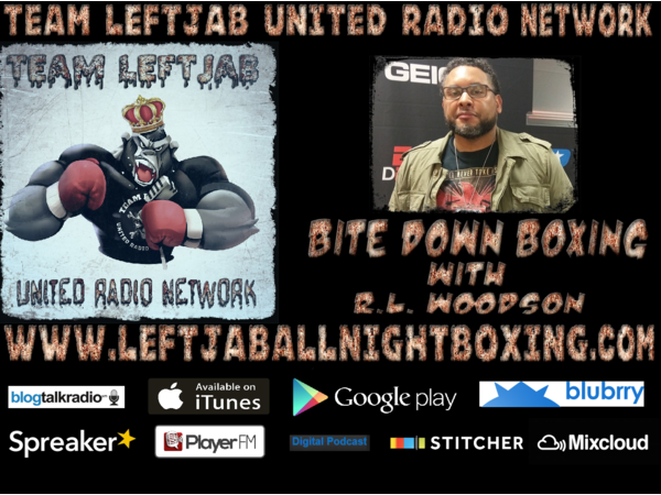 BITE DOWN BOXING WITH R L  WOODSON