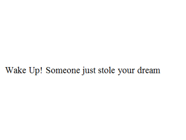 WWD 278 Wake Up! Someone just stole your dream