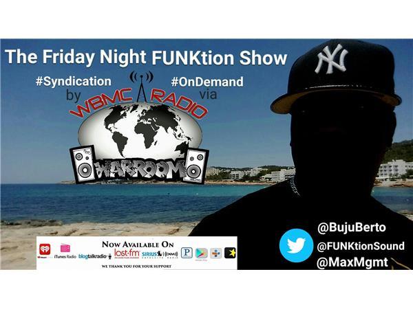 WBMC Radio presents....Friday Night FUNKtion Show with Phill Ortiz