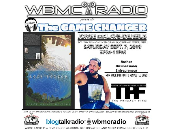 WBMC Radio presents...The Unsigned Grind hosted by BLACKVAL:  Jorge Malave-Dejes