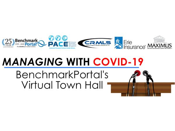 MANAGING WITH COVID-19 | BenchmarkPortal's Virtual Town Hall