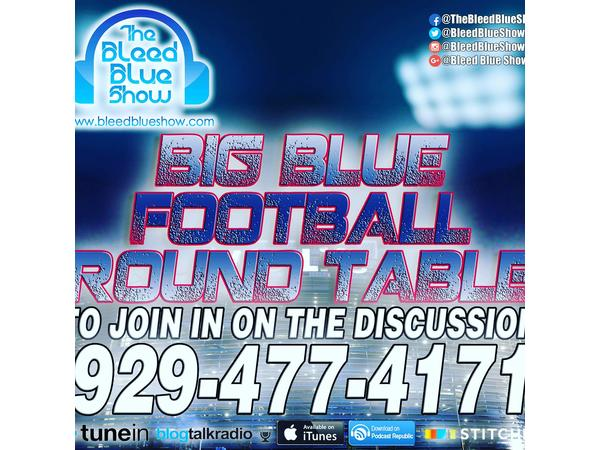 Big Blue Round Table - Ring of Honor