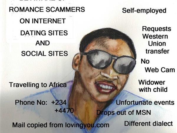 Dating scammers nigerianska bilder