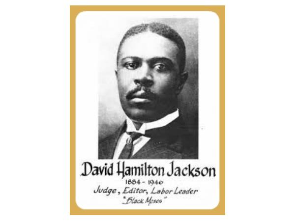 David Hamilton Jackson His Life And Legacy 10 31 By