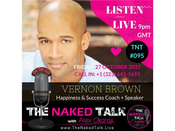 Finding Your Happiness with Guest - Vernon Brown