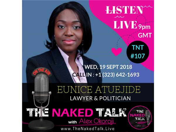 What It Takes to Lead w/ Guest - Eunice Atuejide