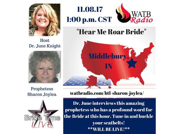 Bride Time LIVE - with Prophetess Sharon Joylea Davis -