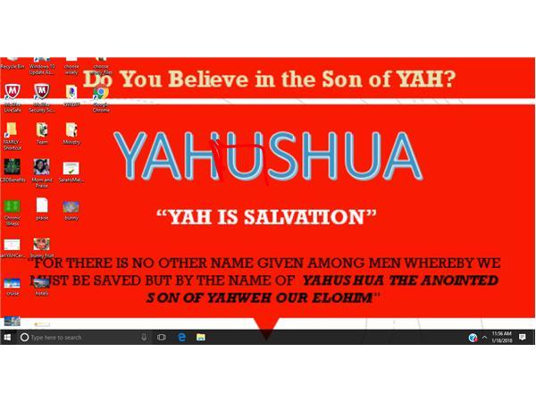 Victory in YAHUSHA HA'MASCHIACH! (True MessiYAH)