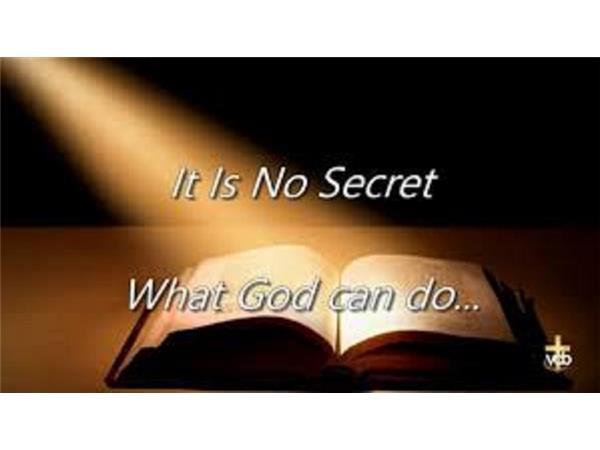 Quot It Is No Secret What God Can Do Quot Host Evangelist Montell