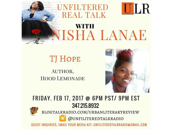 Join Host Nisha Lanae for a night of Unfiltered Book Talk