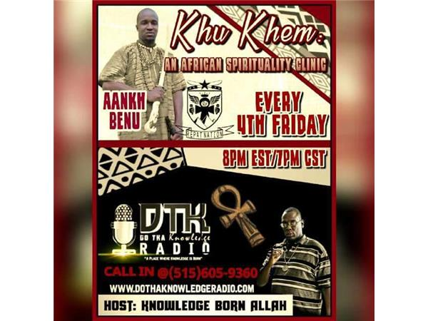 Khu Khem: An Afrikan Spirituality Clinic- Authentic Kemetic