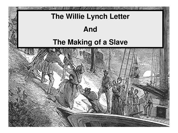 when was willie lynch born