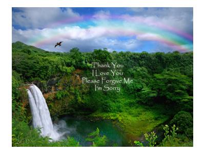 Ho'Oponopono - Hawaiian Healing Rite 08/03 by Dr Kimberley
