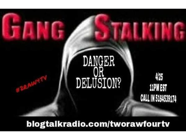 GANG STALKING: DELUSION OR DANGER? 04/25 by two raw four tv