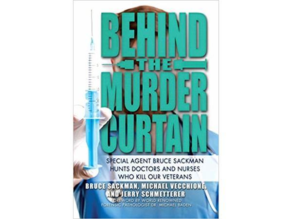 BEHIND THE MURDER CURTAIN-Bruce Sackman